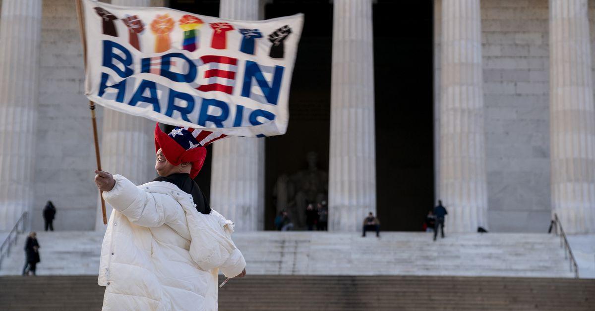 Inauguration live stream: watch Joe Biden and Kamala Harris get sworn into office