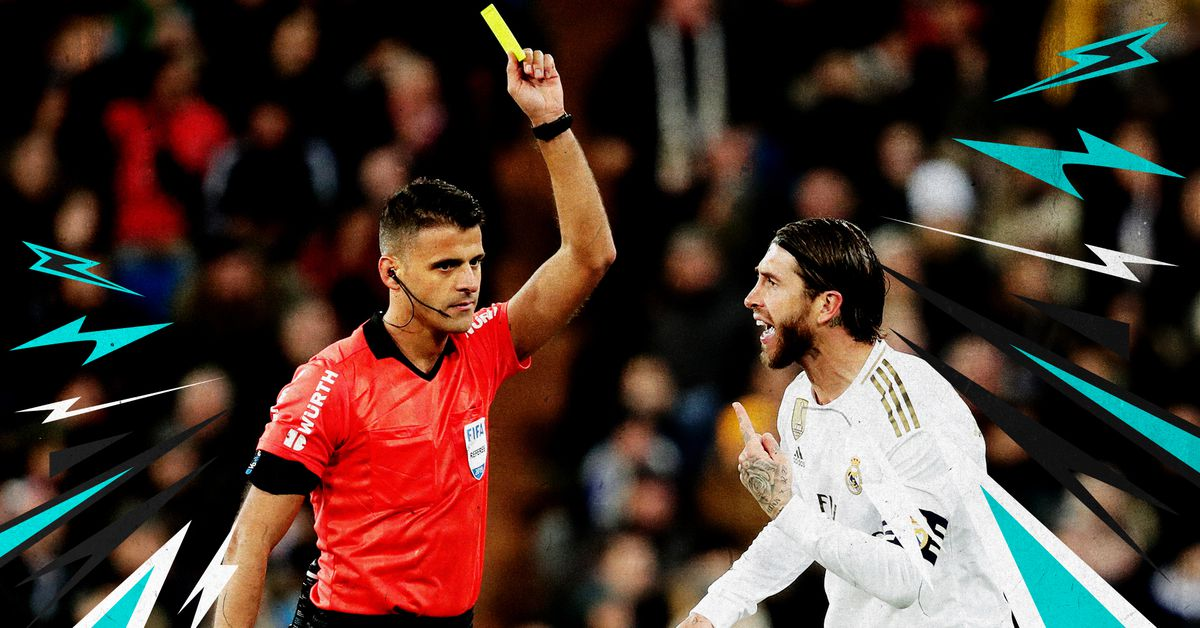 All hail Sergio Ramos, god of cynical fouls