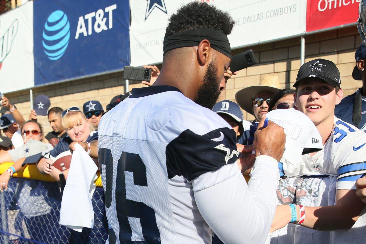 NFL: JUL 27 Cowboys Training Camp