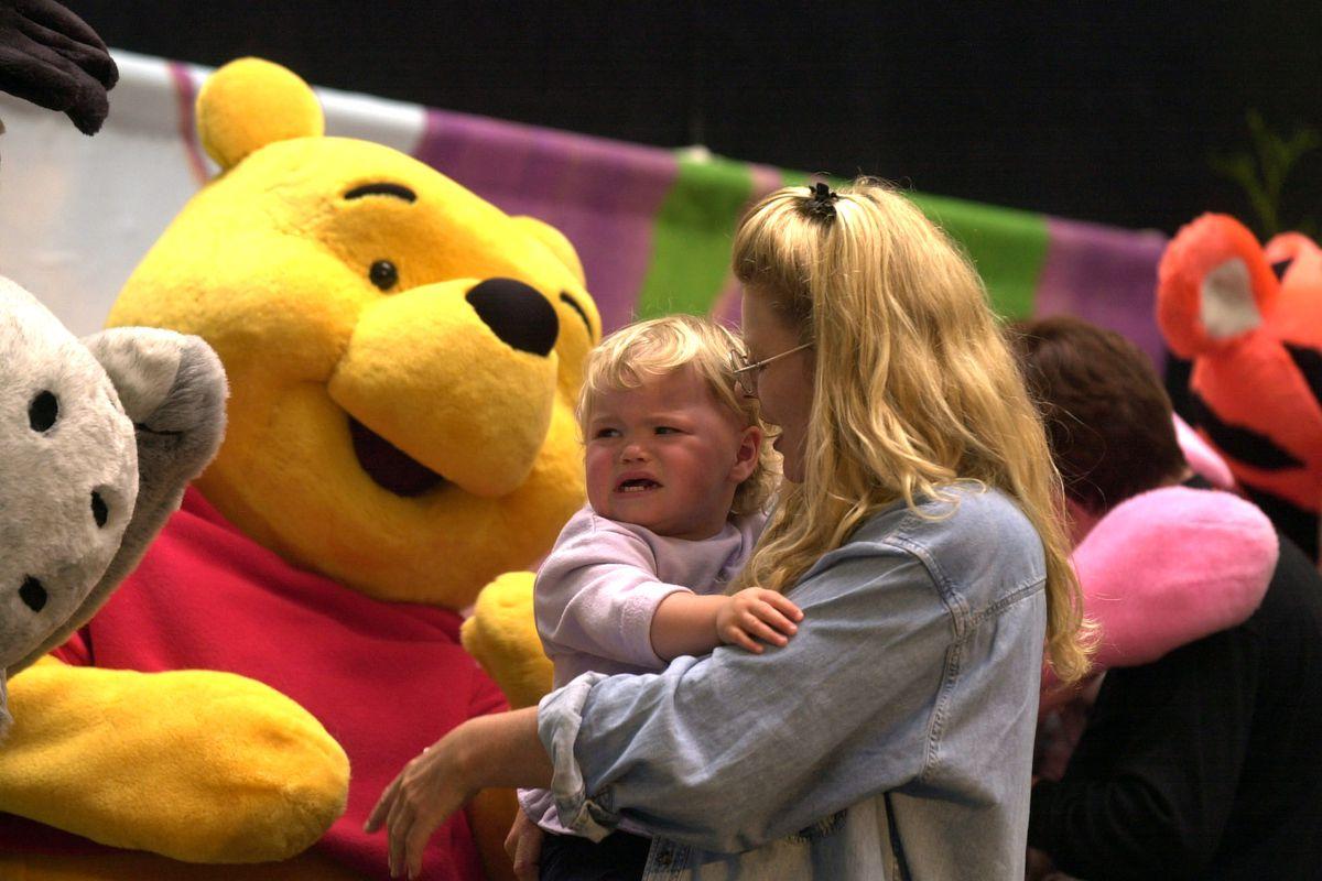 23 month old EmmaLeigh of Beachhaven finds Winnie
