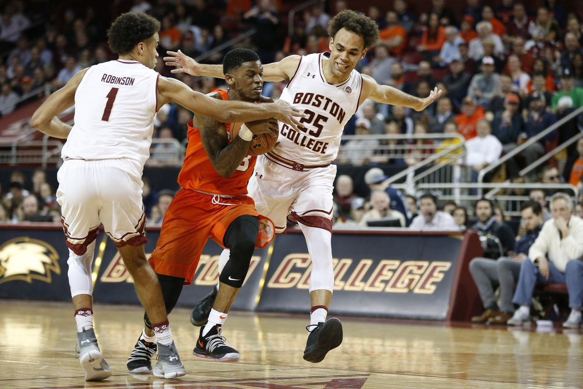 bc closes out home schedule with a decisive win over syracuse - bc