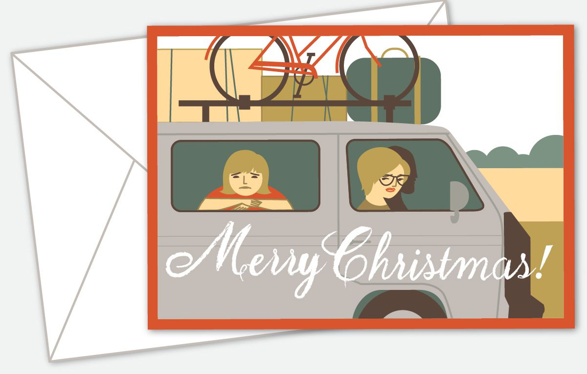 What Christmas cards would look like if they told the truth - Vox
