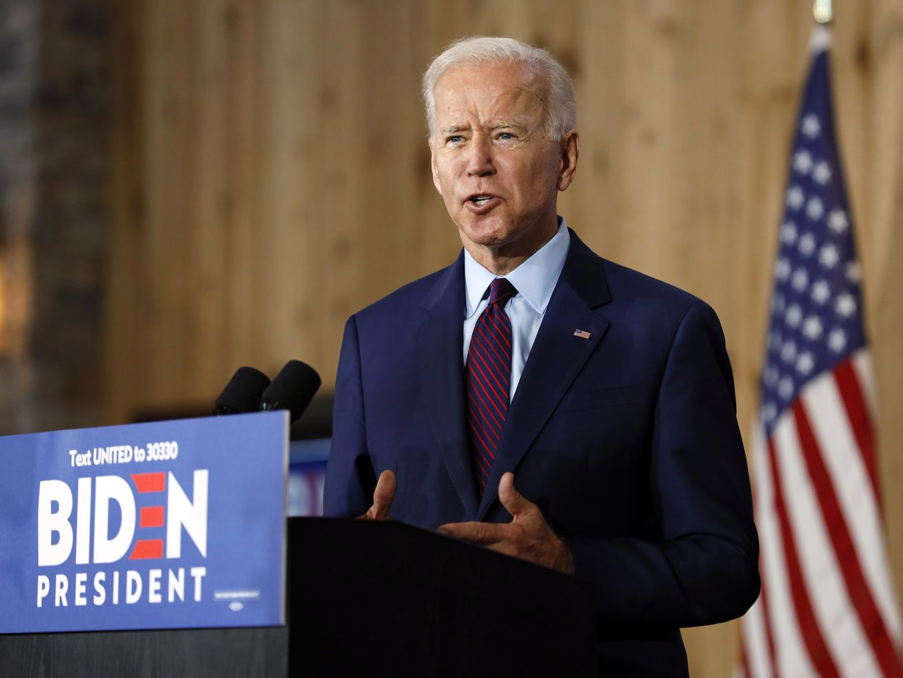 Joe Biden Democratic presidential candidate 2020 primary
