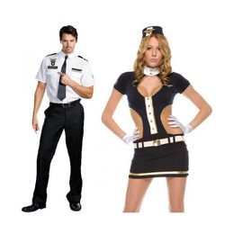 """We really enjoy when Ricky's sexualizes normal working relationships. If you don't like """"Mile High Hugh Jordan"""" and """"Mile High Captain,"""" you and your loved one can be an airport security guard and flight attendant or """"Strip Search"""
