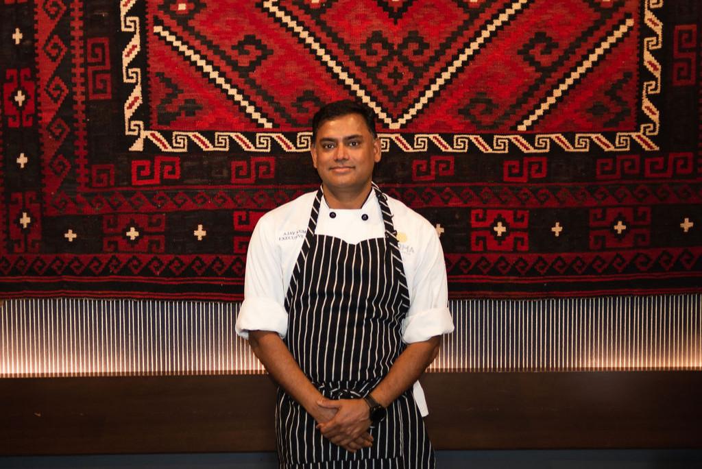 Kismet executive chef Ajay Kumar