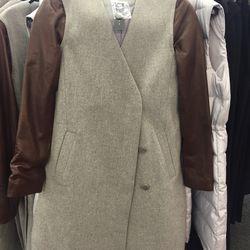 Leather jacket, $449