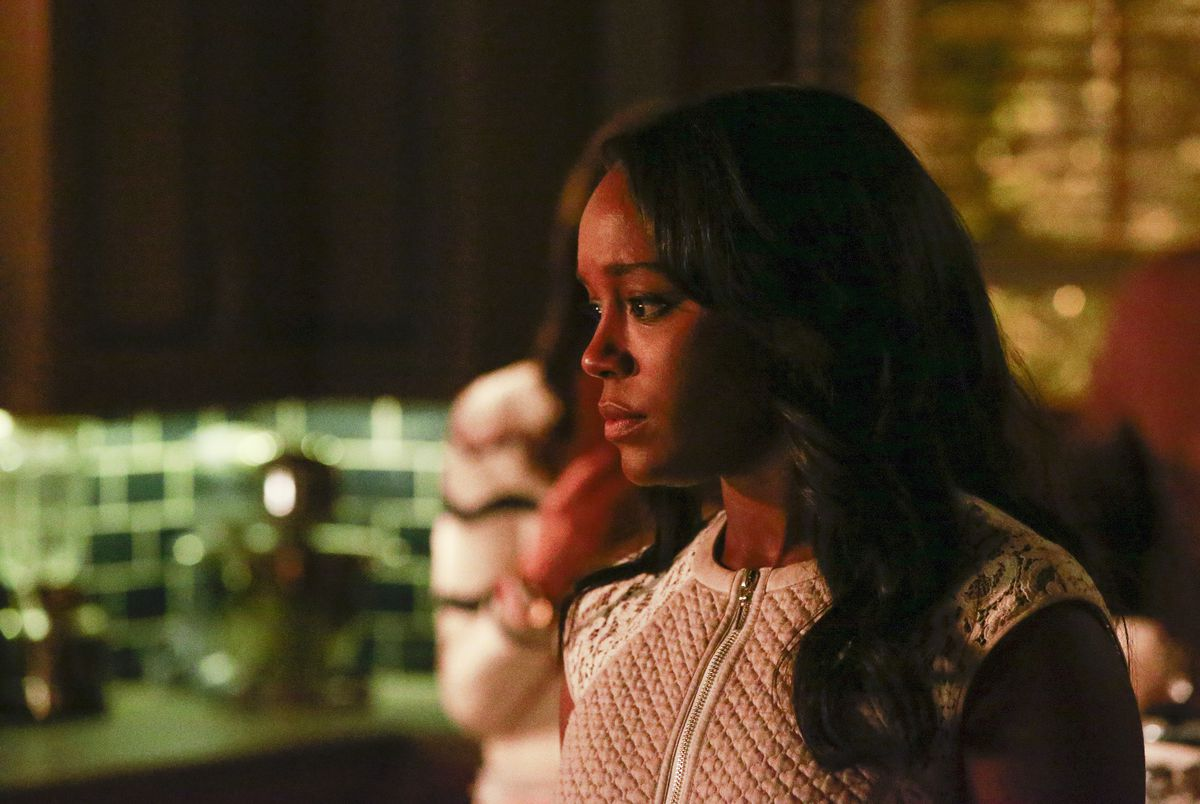 Aja Naomi King in How to Get Away with Murder (ABC)