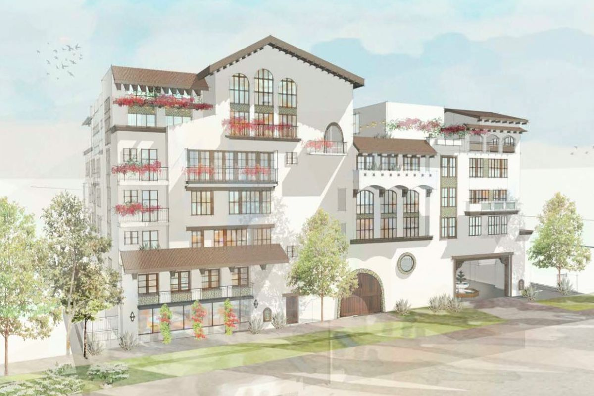Seven Story La Cienega Project Would Bring 90 Apartments Just South Of Beverly Hills