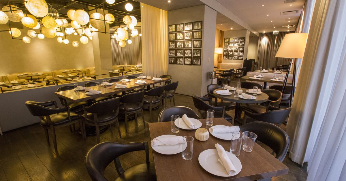Inside the revamped pump room now open from lettuce for Lettuce entertain you restaurants