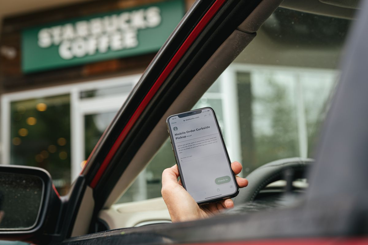 Starbucks customers will soon be able to utilize curbside pickup from their cars. Orders will be placed using the order and pay feature on the Starbucks app and then consumers will check-in at designated parking spots at when they arrive at stores.