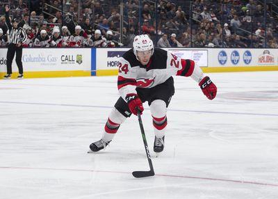 NHL: SEP 27 Preseason - Devils at Blue Jackets