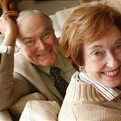 Fred Quinn and Bishop Carolyn Tanner Irish married 2 1/2 years ago.