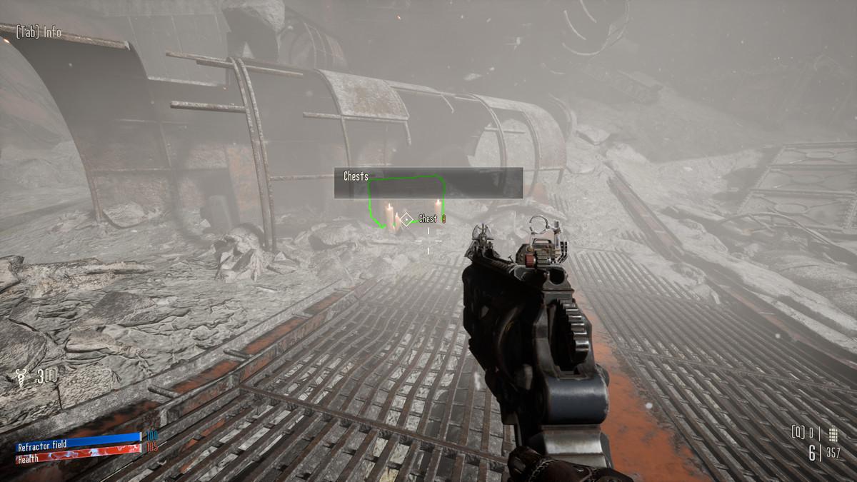 Necromunda: Hired Gun's Green Contour Chest