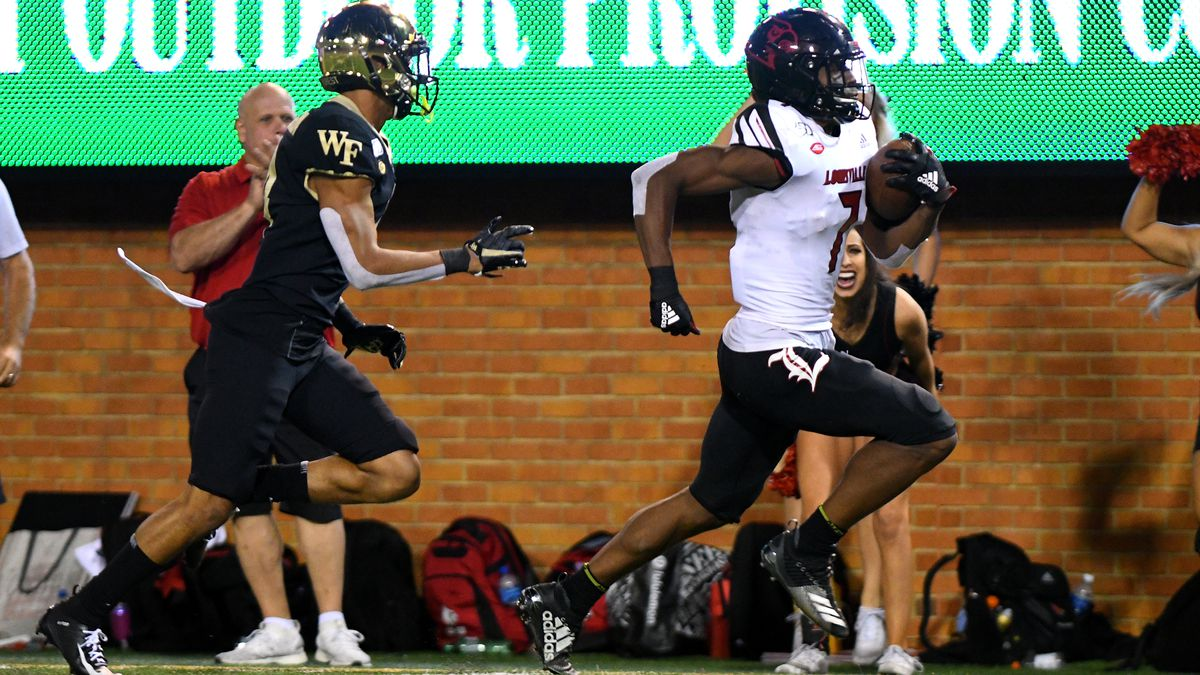 COLLEGE FOOTBALL: OCT 12 Louisville at Wake Forest