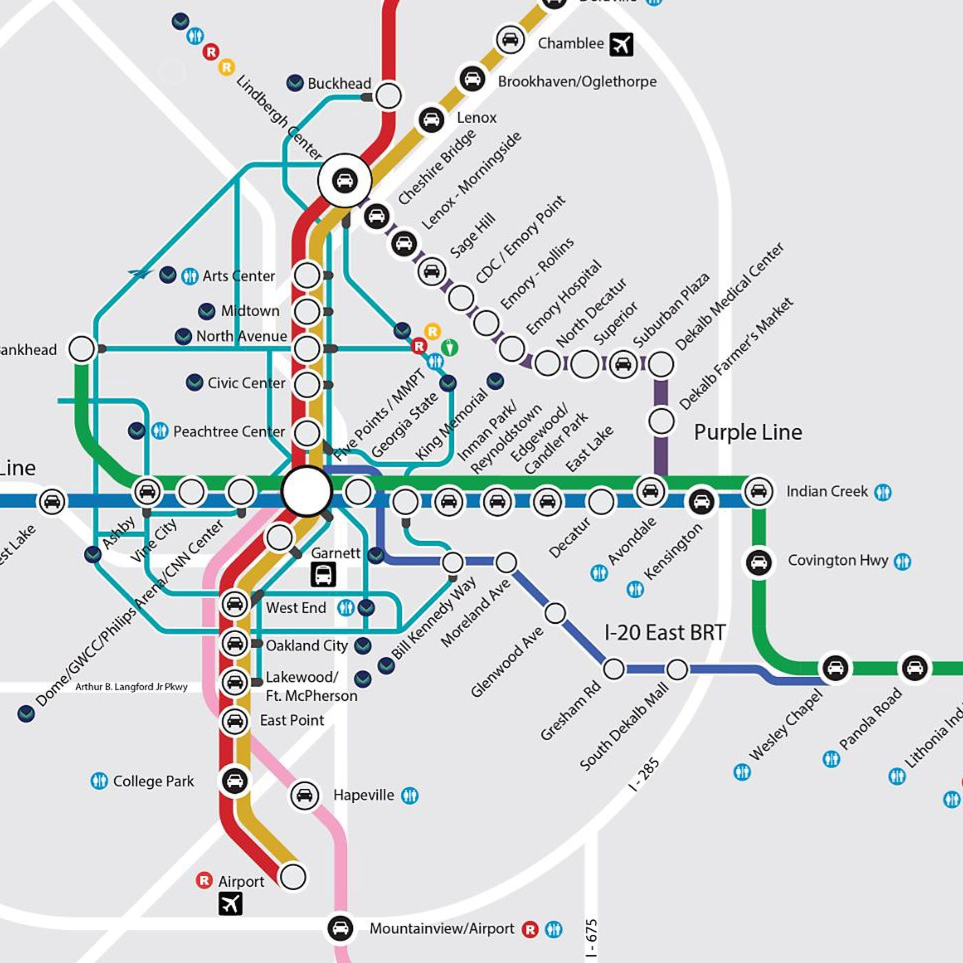 The Latest Greatest Marta Dream Map Could Actually Happen Curbed