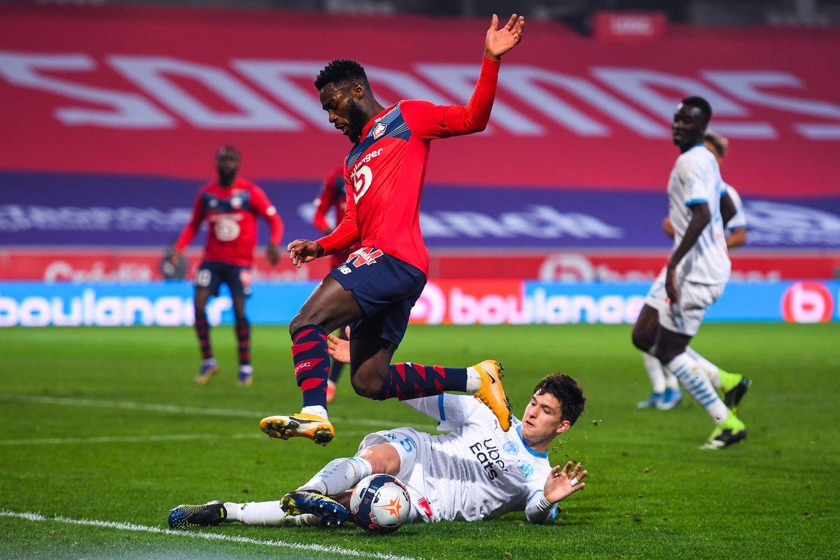 Lille OSC v Olympique de Marseille - Ligue 1 Uber Eats
