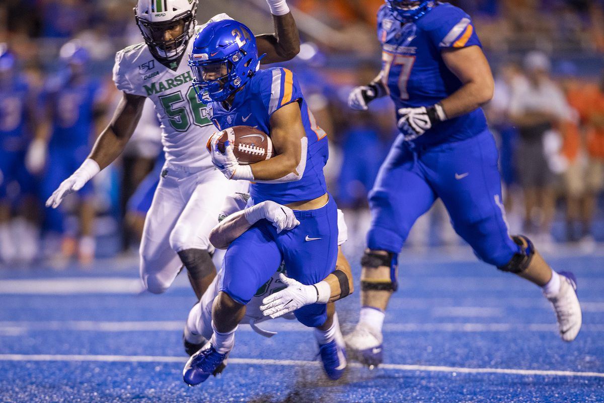 Marshall at Boise State