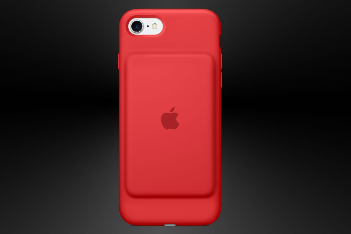 product red iphone 7 plus case