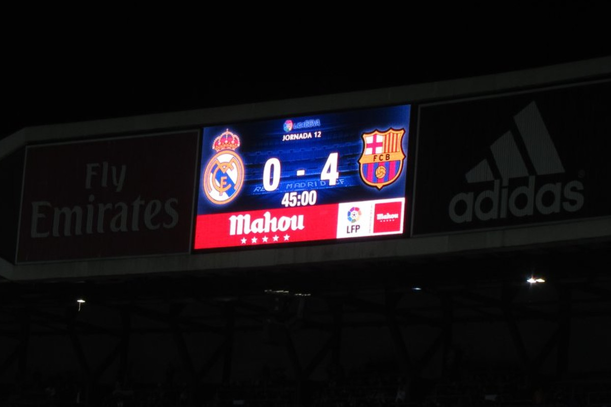 Real Madrid 0-4 FC Barcelona