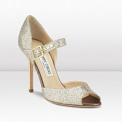 "<b>Jimmy Choo</b> Lace shoes, <a href=""http://us.jimmychoo.com/en/us/lace/invt/247lacegfa/"">$550</a>"
