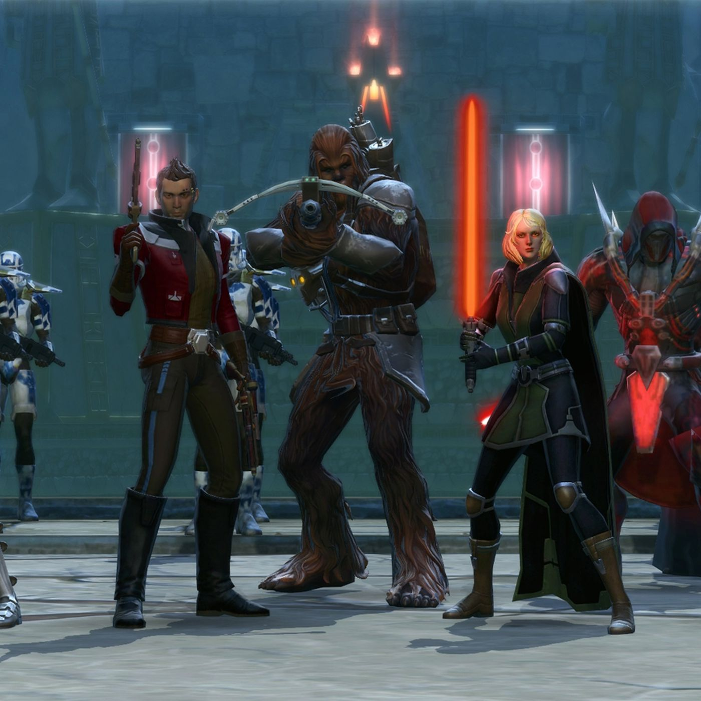 Star Wars The Old Republic Deserves A Second Chance Polygon