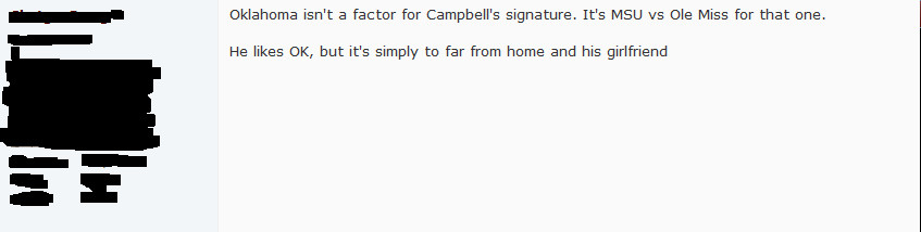 recruiting message board promise