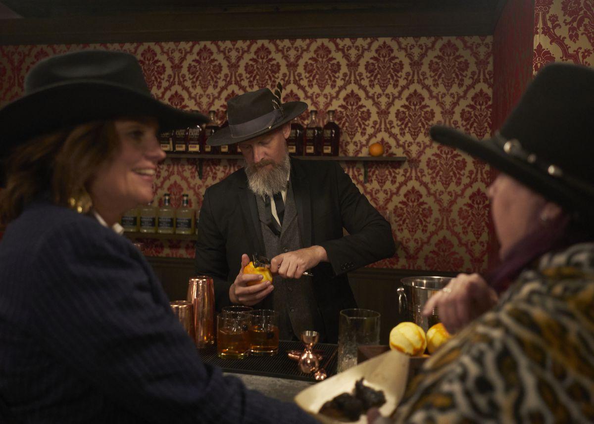 The Mariposa Saloon at Westworld