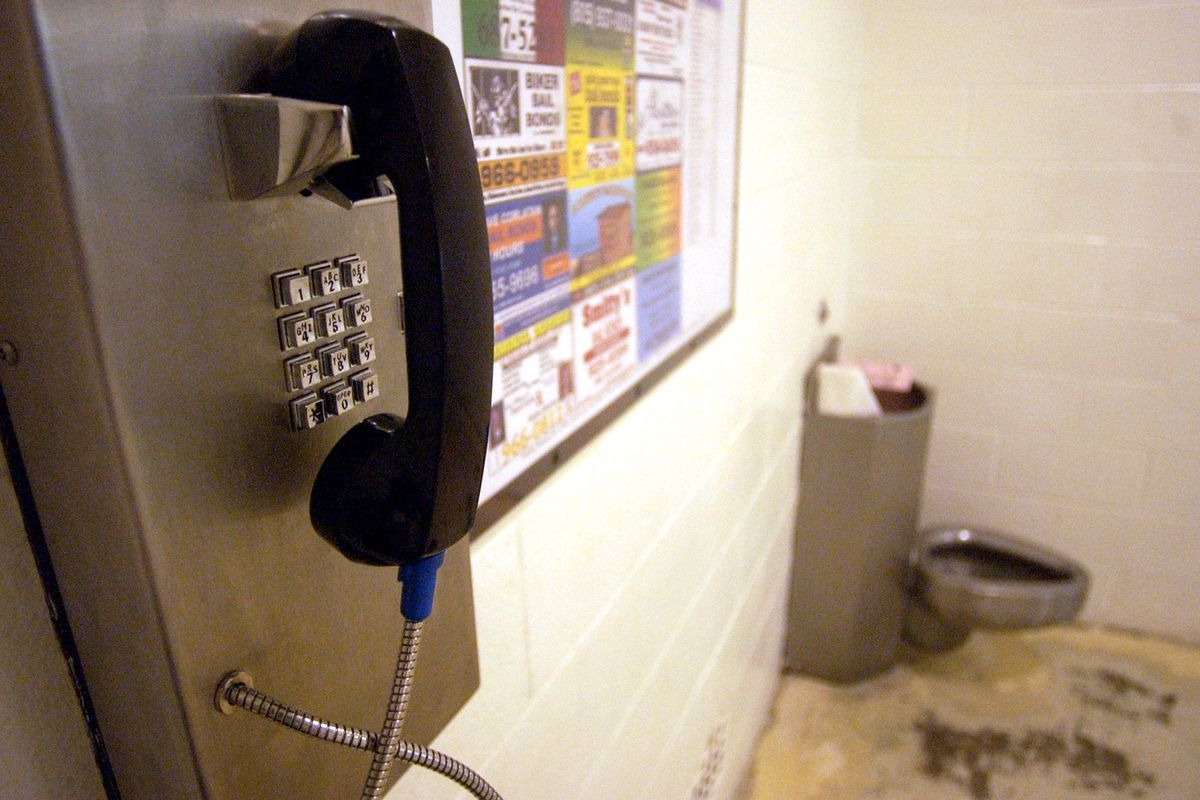 Prison inmate calling companies - Pool Getty Images