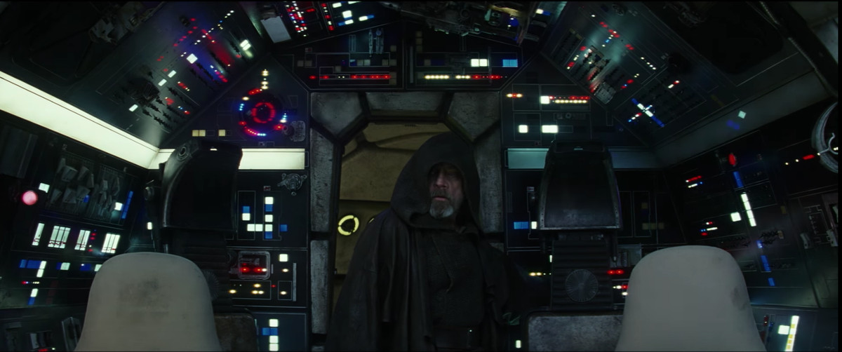Luke after the lights turn on