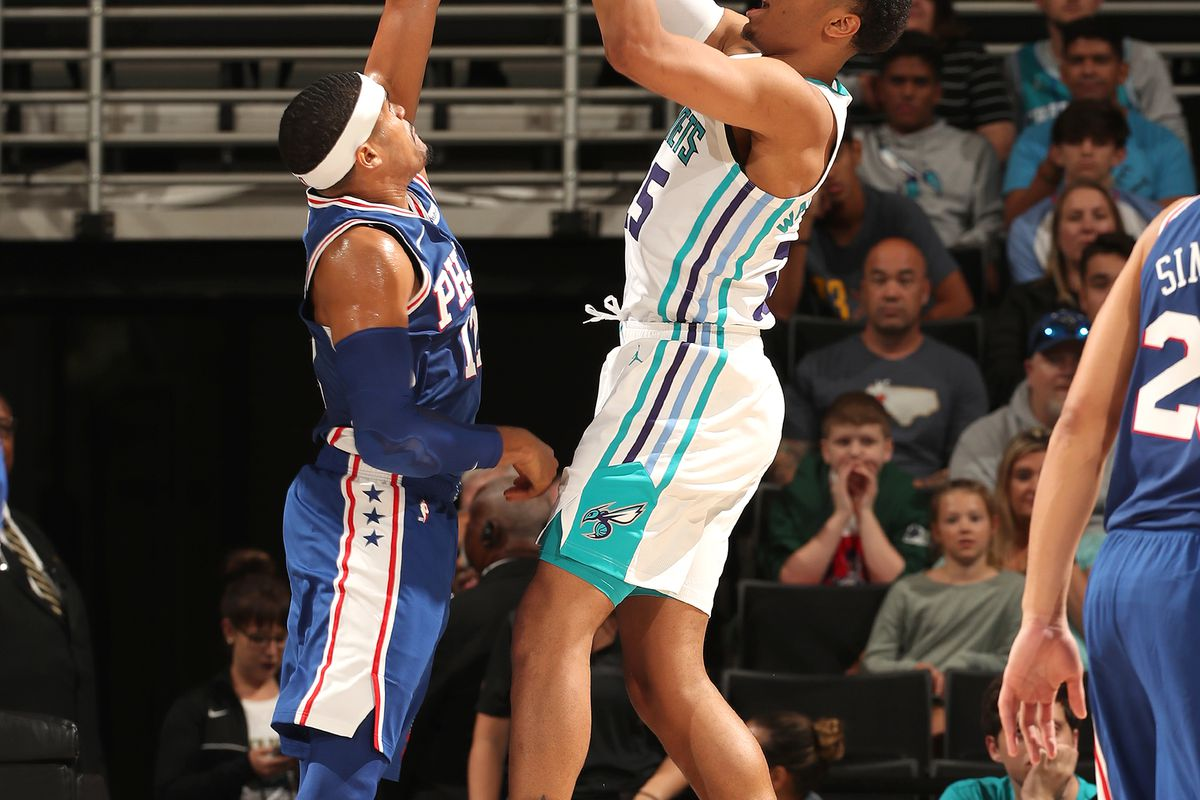 76ers vs hornets - photo #8