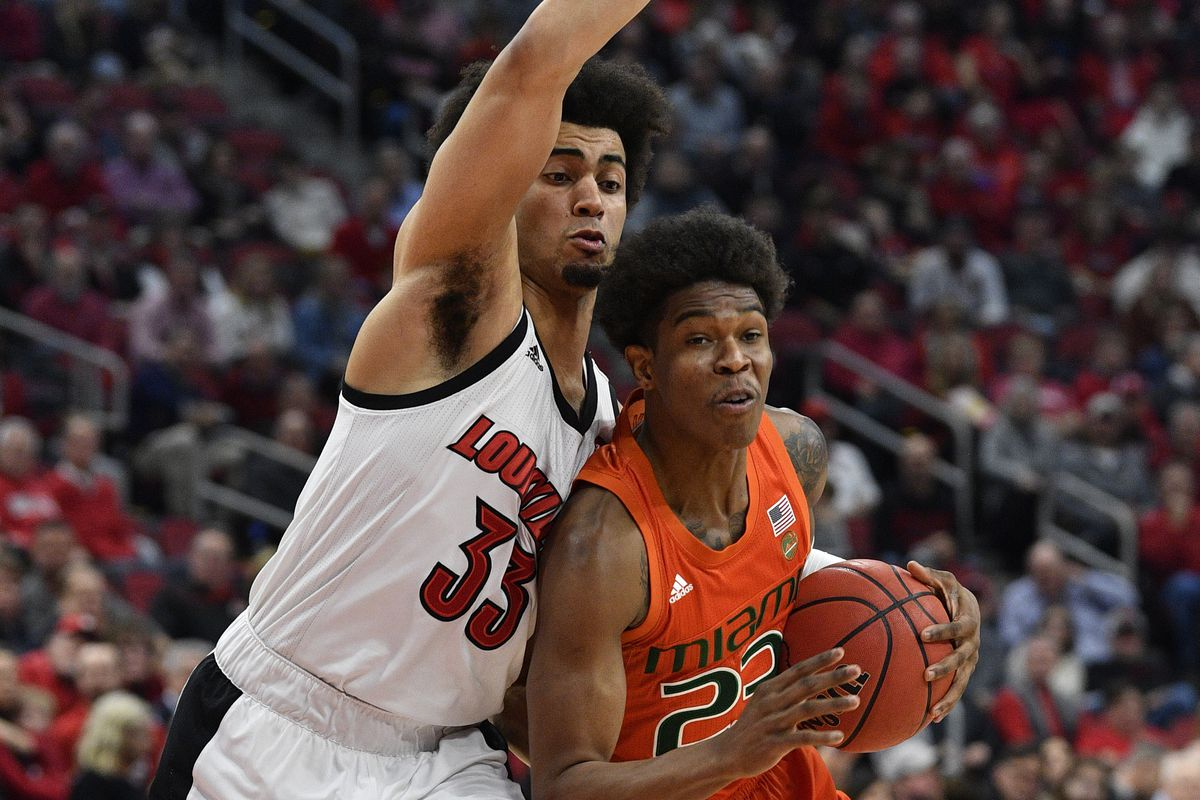 Canes Hoops: Miami Taken Down by Louisville in Second Half After Failing to Complete Comeback
