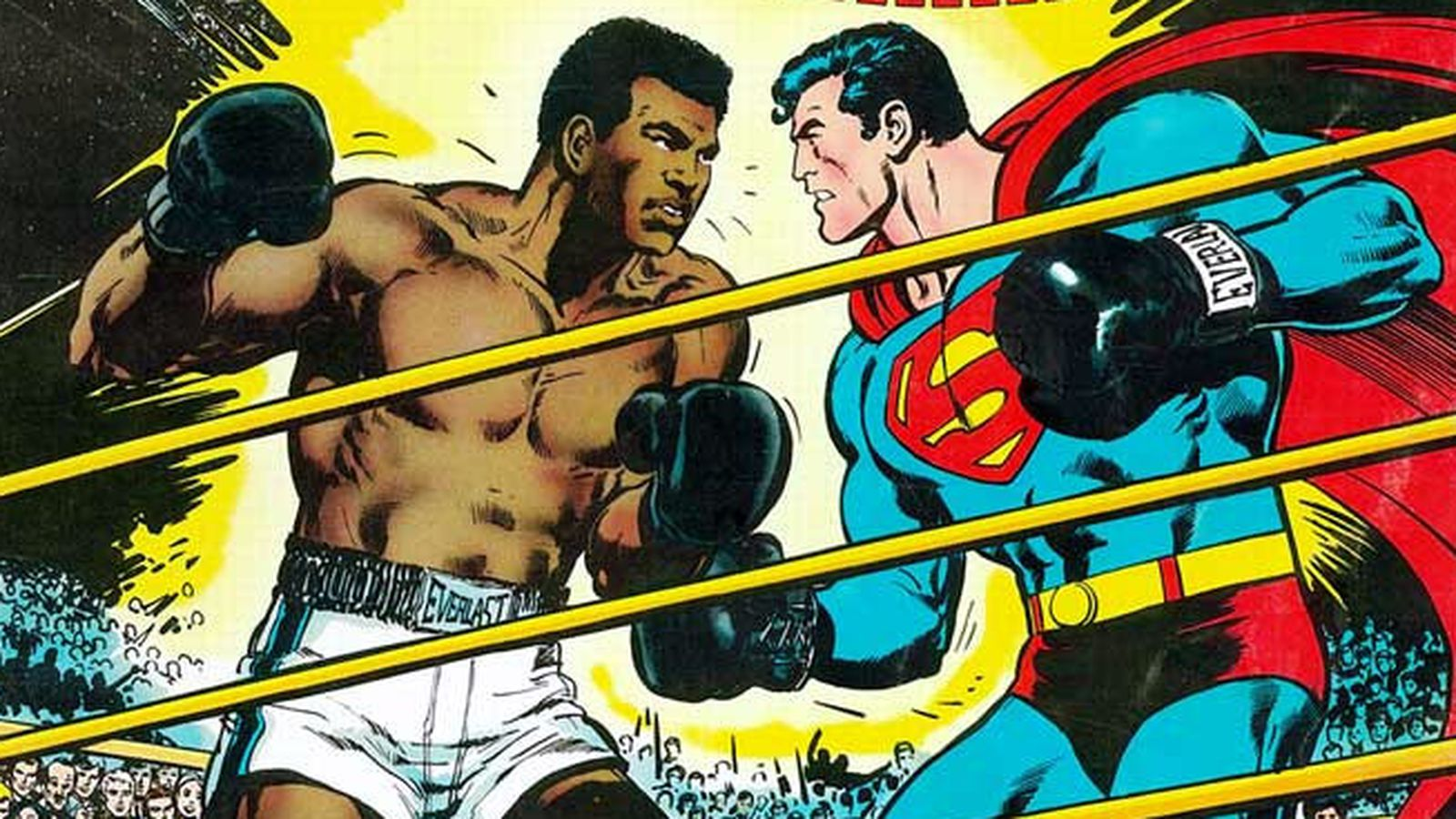 Remembering the time Muhammad Ali fought Superman - Polygon
