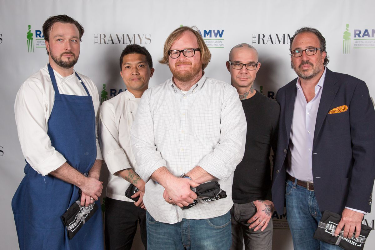 New Restaurant of the Year nominees who attended last night's event.