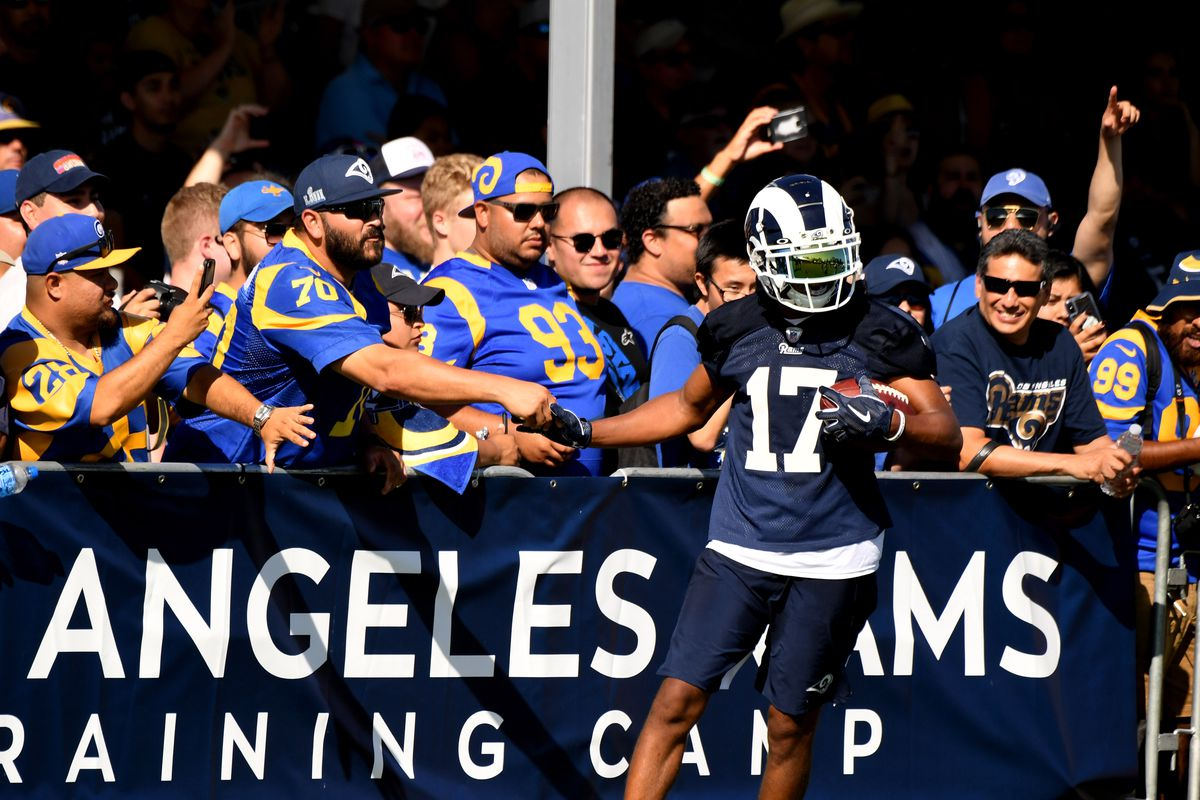 5ceafab5 2019 LA Rams training camp: July 28 practice recap - Turf Show Times