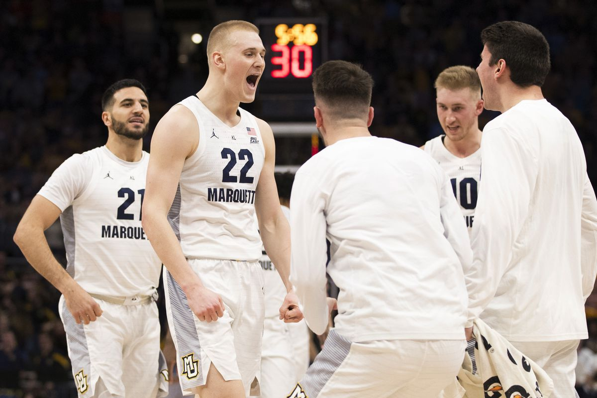 Marquette Men S Basketball Ranked 18 In New Associated