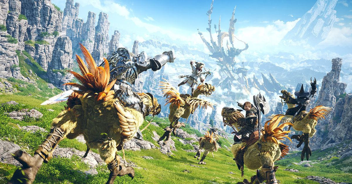 Final Fantasy 14 gets a PS5 open beta on April 13 - Polygon