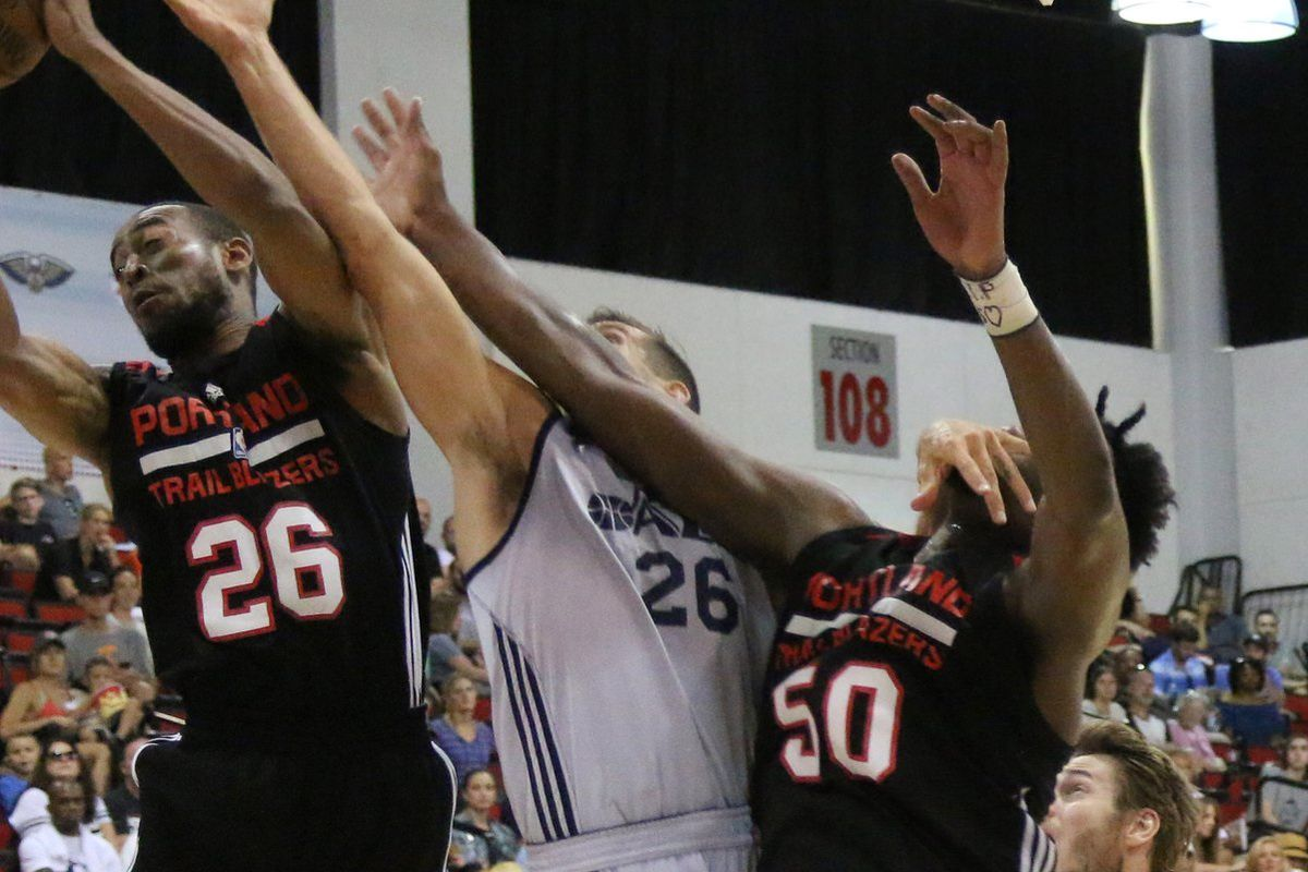 Swanigan Posts Double-Double as Blazers Win First Summer League ...
