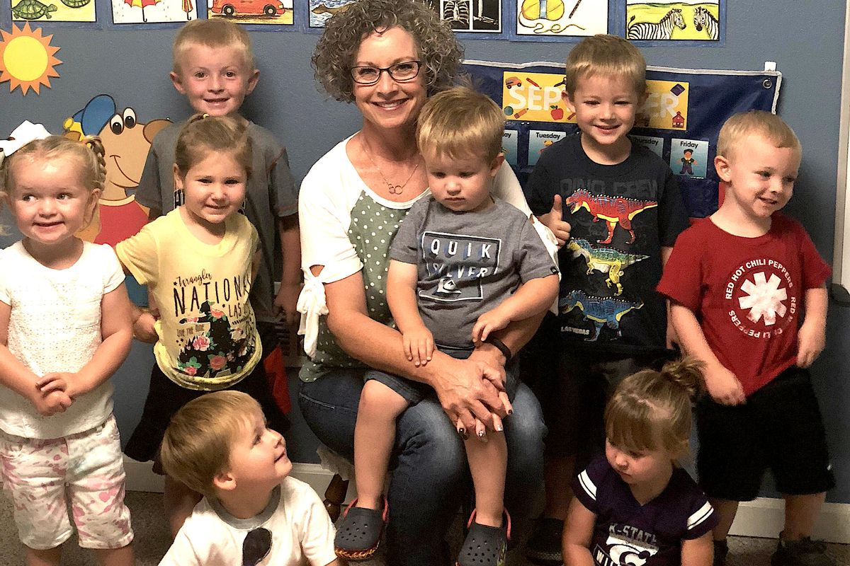 Lora Grippin is the owner of Lora's Preschool, which she runs out of her home in Sterling, Colorado.