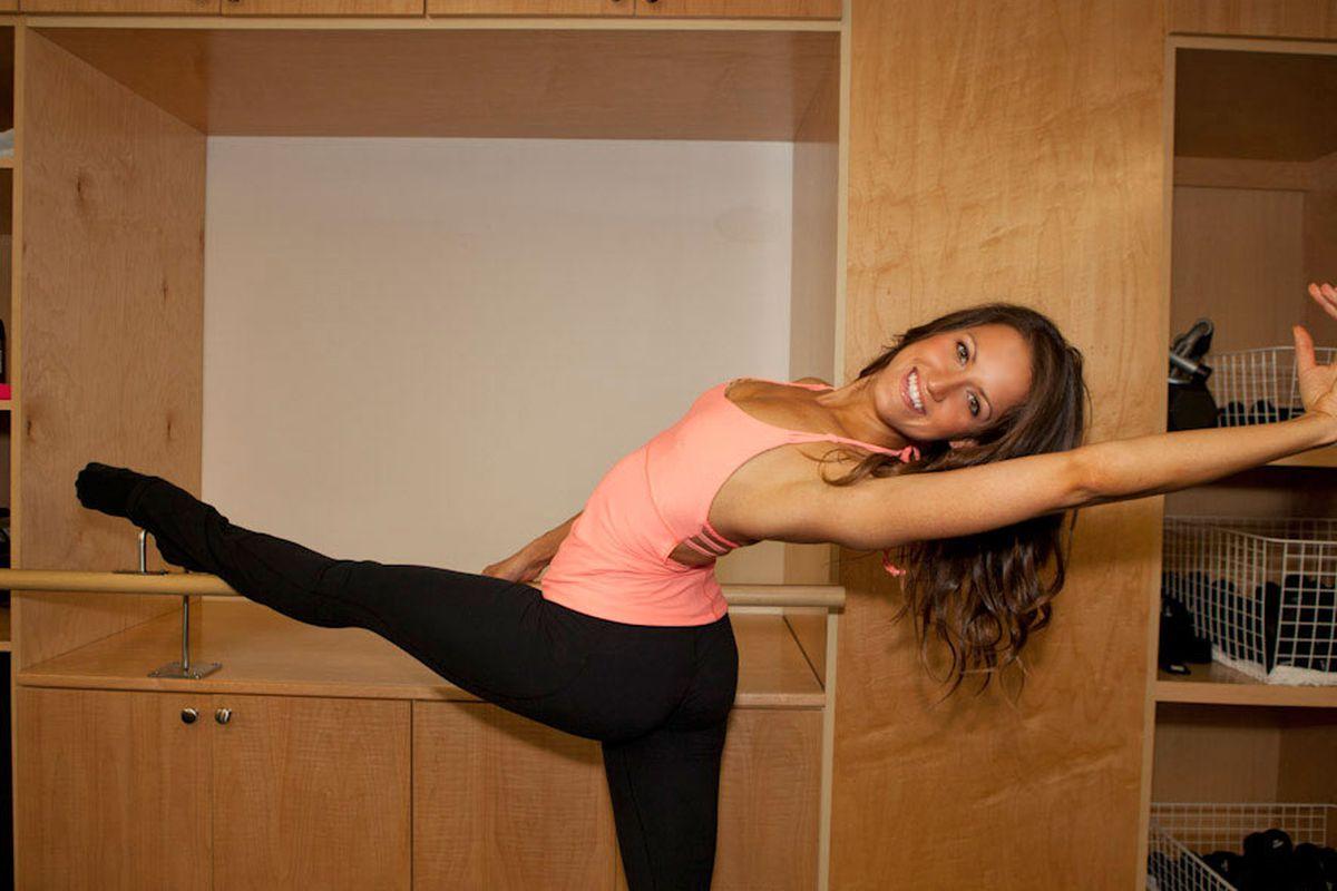 """Last year's winner, Katie Johnson of Physique 57. Photo by <a href=""""http://www.elizabethdanielsphotography.com/#/"""">Elizabeth Daniels</a>."""