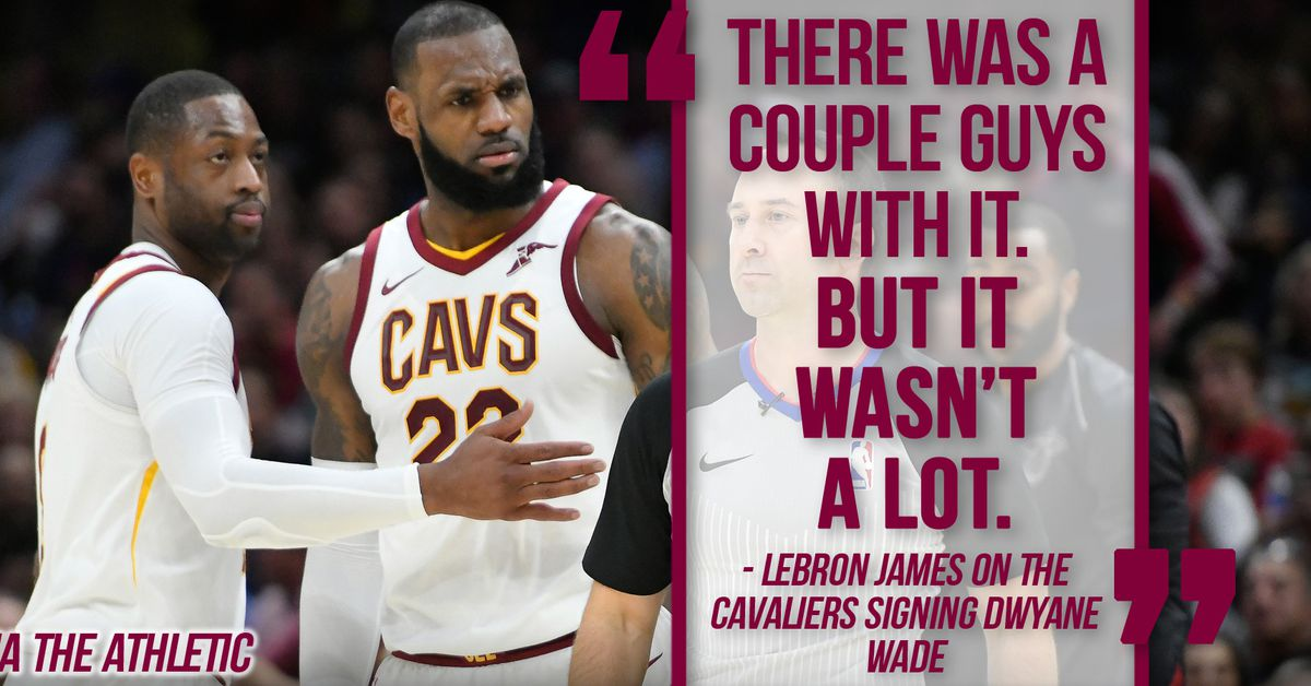 a6a01a756942 Several Cavaliers did not want the team to sign Dwyane Wade - Fear The Sword