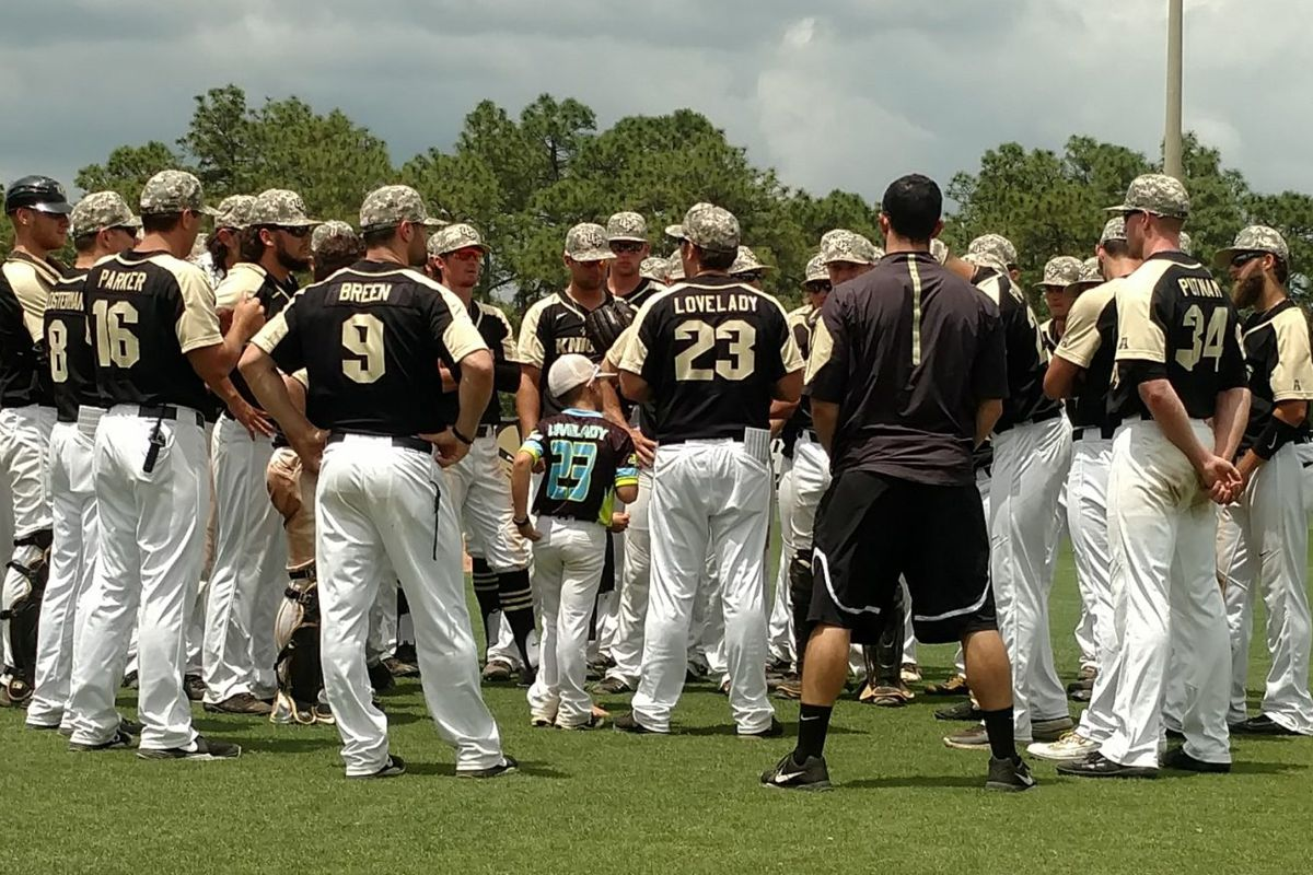 official photos 54b14 34608 UCF Knights Baseball Hosts Houston With Huge NCAA Tournament ...