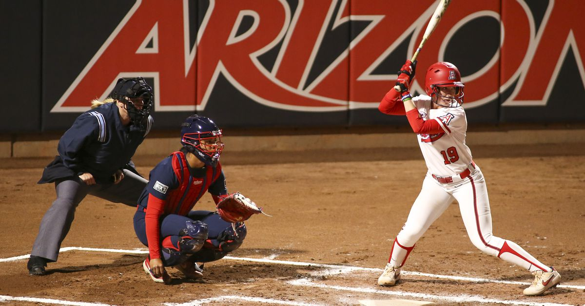Team USA's dream team softball pitchers got lit up by Arizona's Jessie Harper