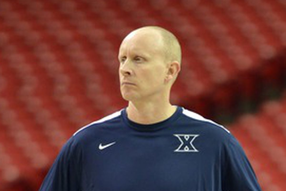 Chris Mack slightly perturbedly surveys the field of potential additions.