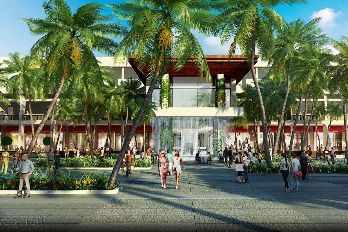 a new plaza in miami