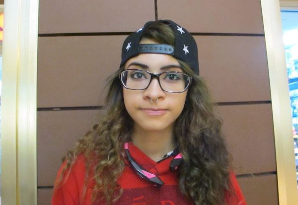 Rachelle Mejia, 10th grader who attended a district middle school in Brooklyn