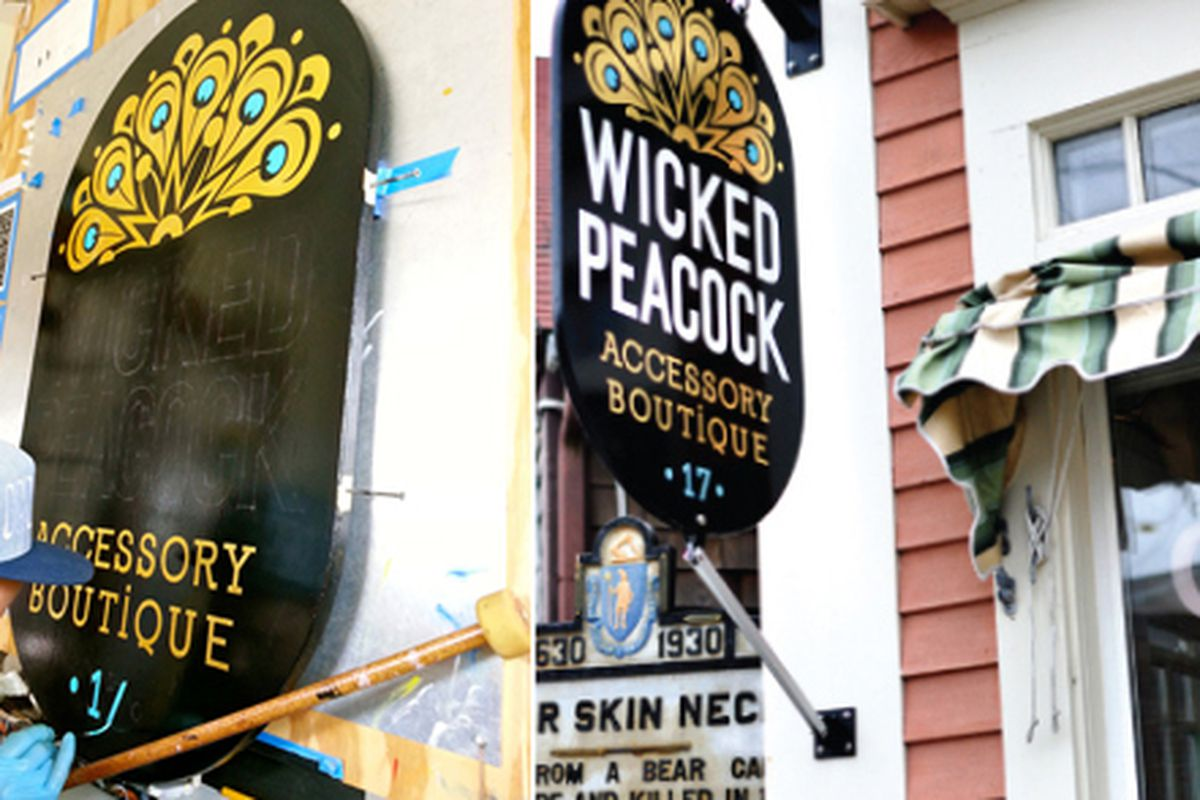 """Image via <a href=""""http://blog.wickedpeacock.com/2013/07/17/only-the-best-dressed-sign-for-wicked-p/"""">Wicked Peacock</a>"""