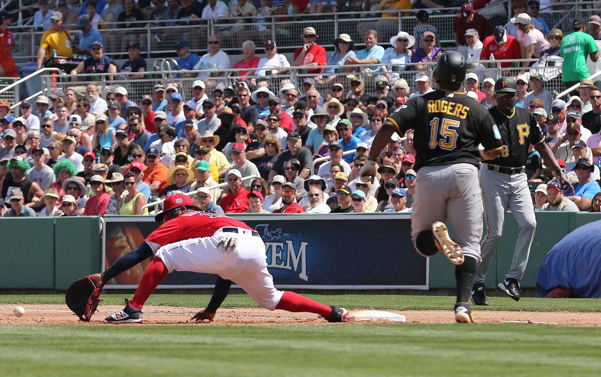 MLB: Spring Training-Pittsburgh Pirates at Boston Red Sox