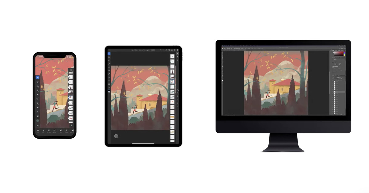 Adobe adds collaborative editing to Photoshop, Illustrator, and Fresco - The Verge
