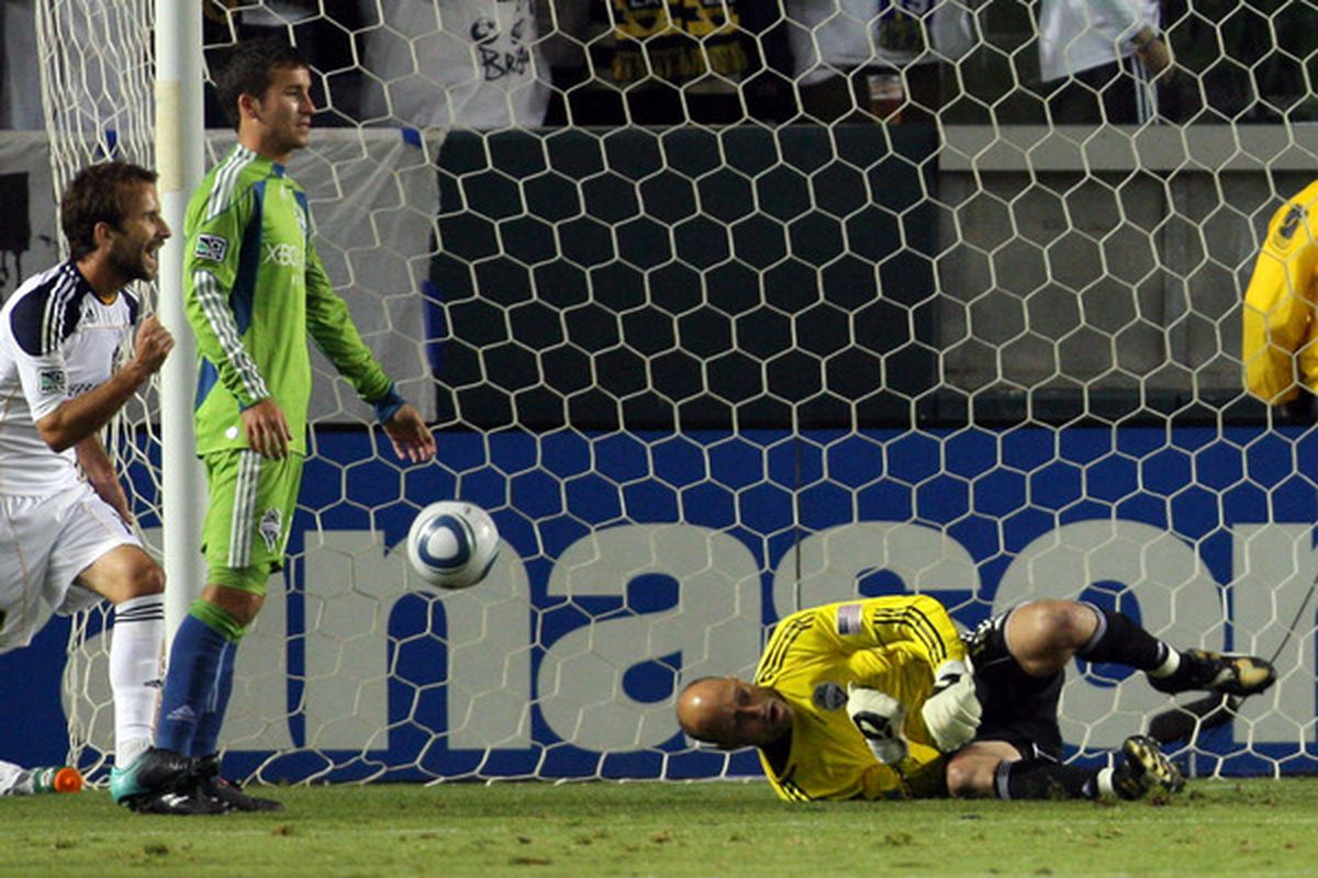 Kasey Keller was beaten by the LA Galaxy several times in 2010. Does this mean anything for 2011? No.