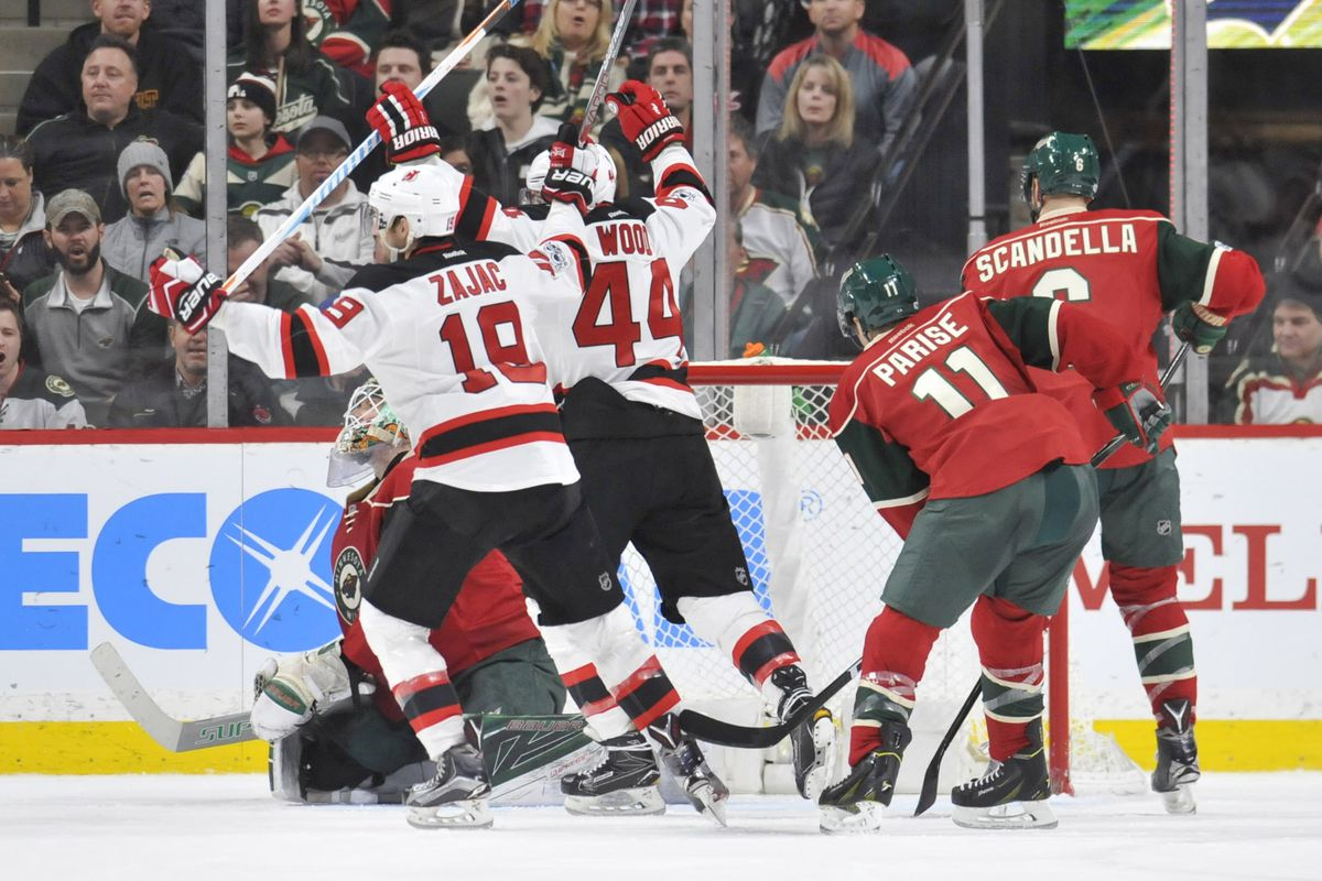 0d886b86c Travis Zajac and Last Season s Momentum - All About The Jersey